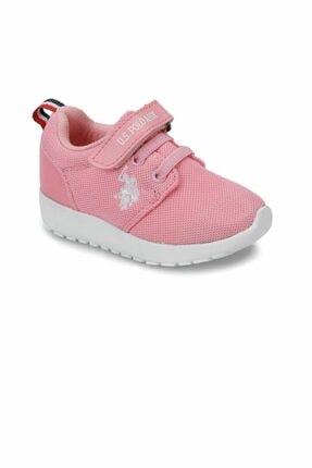 US Polo Assn HONEY Pembe Kız Çocuk Sneaker 100241593 1