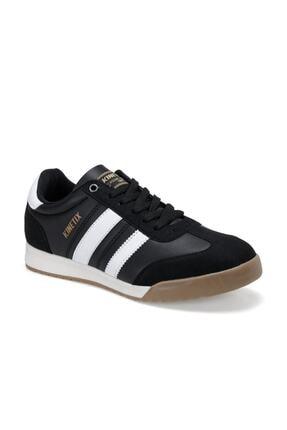 Kinetix Gragas Pu Siyah Erkek Kalın Taban Sneaker Spor Ayakkabı 0