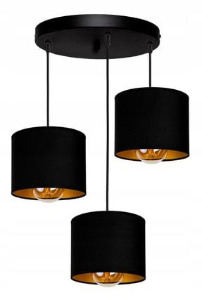 White West inn House Modern Tasarım Salon Avize Siyah Renkli Kumaş Şapkalar 0