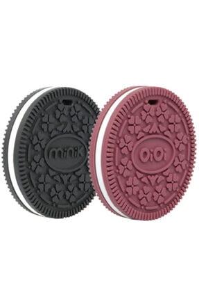 Oioi Bordo Siyah Kuki Diş Kaşıyıcı 2'li Bs 0