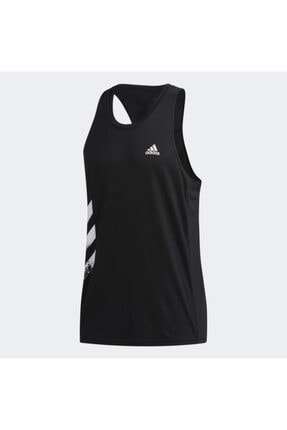 adidas OTR SINGLET 3S Siyah Erkek Atlet 101069139 4