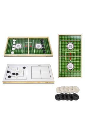 BEMİ Lüks Maif Ahşap Hızlı Sapan Oyunu - Beceri Eğitici Zeka Strateji Çocuk Ve Aile Oyunu 0