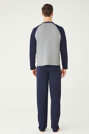 US Polo Assn Erkek Antrasit Melanj Ev Giyim 2