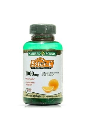Natures Bounty Ester-c 1000 Mg 60 Tablet 0