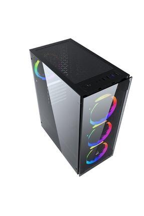 GAMETECH Ares Rainbow 4x120mm Fan Gaming Oyuncu Kasası 2