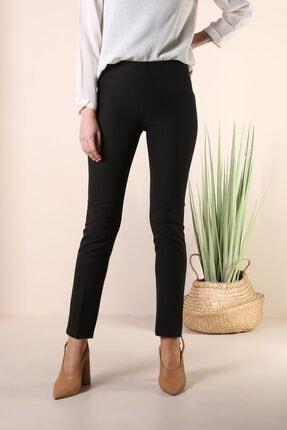ALLDAY Kadın Siyah Dar Paça Pantolon 4