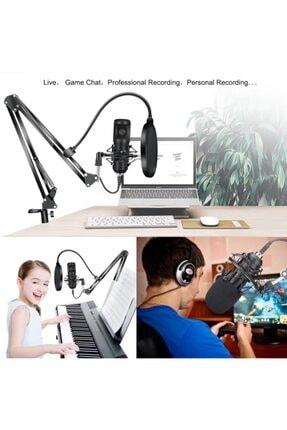 SGE Profesyonel Bm-800 Stüdyo Kayıt Youtuber Mikrofon Seti + Stand 2