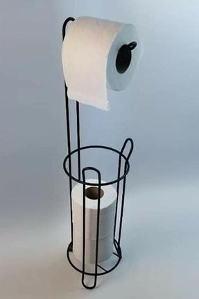 LALEZEN Ferforje Wc Tuvalet Kağıtlık Siyah 1
