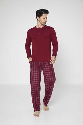 Aydoğan Erkek Modal Uzun Kollu Pijama Takımı 0