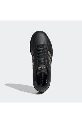 adidas GRAND COURT Siyah Kadın Sneaker Ayakkabı 101069034 2
