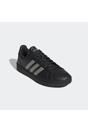 adidas GRAND COURT Siyah Kadın Sneaker Ayakkabı 101069034 4