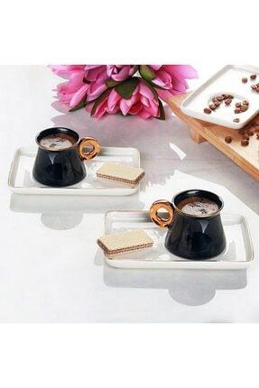 ACAR Beyaz Kahve Fincan Seti Can-009665 3