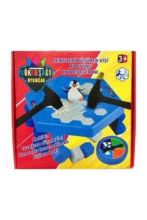 Gökkuşağı Penguen Düşürme Oyunu Buz Tuzağı Oyunu Buz Kırma Çocuk Zeka Ve Strateji Oyunu 1