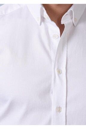Ramsey Dokuma Uzun Kollu Gömlek 1