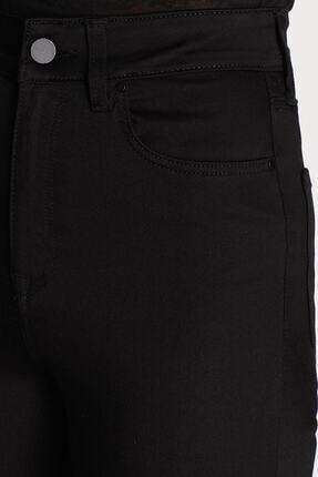 Terrenova Victoria E.x.t.r.a Black Jeans (NORMAL YÜKSEK) Pantolon Solmaz Siyah Jeans(TOPARLAYICI) 2
