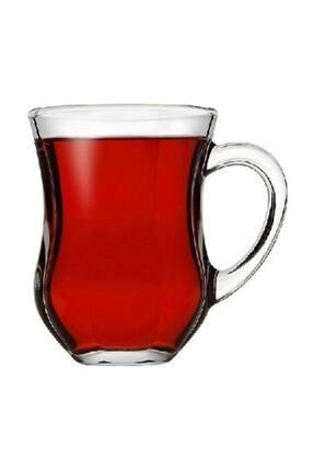 Paşabahçe 55373 Dem Kulplu Kahvaltı Keyif Çay Bardağı 140 Cc 6'lı 0