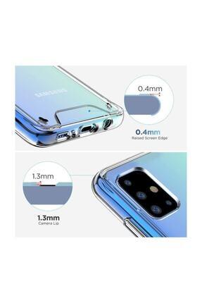Cimricik Galaxy A71 Uyumlu Şeffaf Gard Zırh Kılıf Kamera Korumalı Kılıf 2