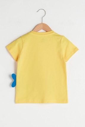 LC Waikiki Erkek Bebek Sarı Fwv T-Shirt 1