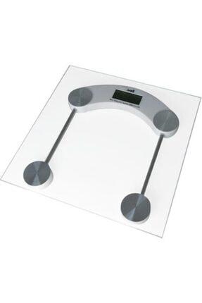 Techfit Dijital Tartı Temperli Cam Kare Baskül Terazi Banyo Baskülü 180kg Tf1052 0