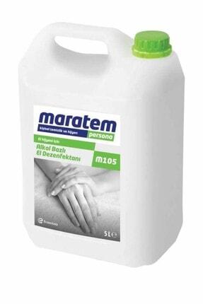 Maratem M105 Alkol Bazlı El Dezenfektanı 5lt 8693239213536 0