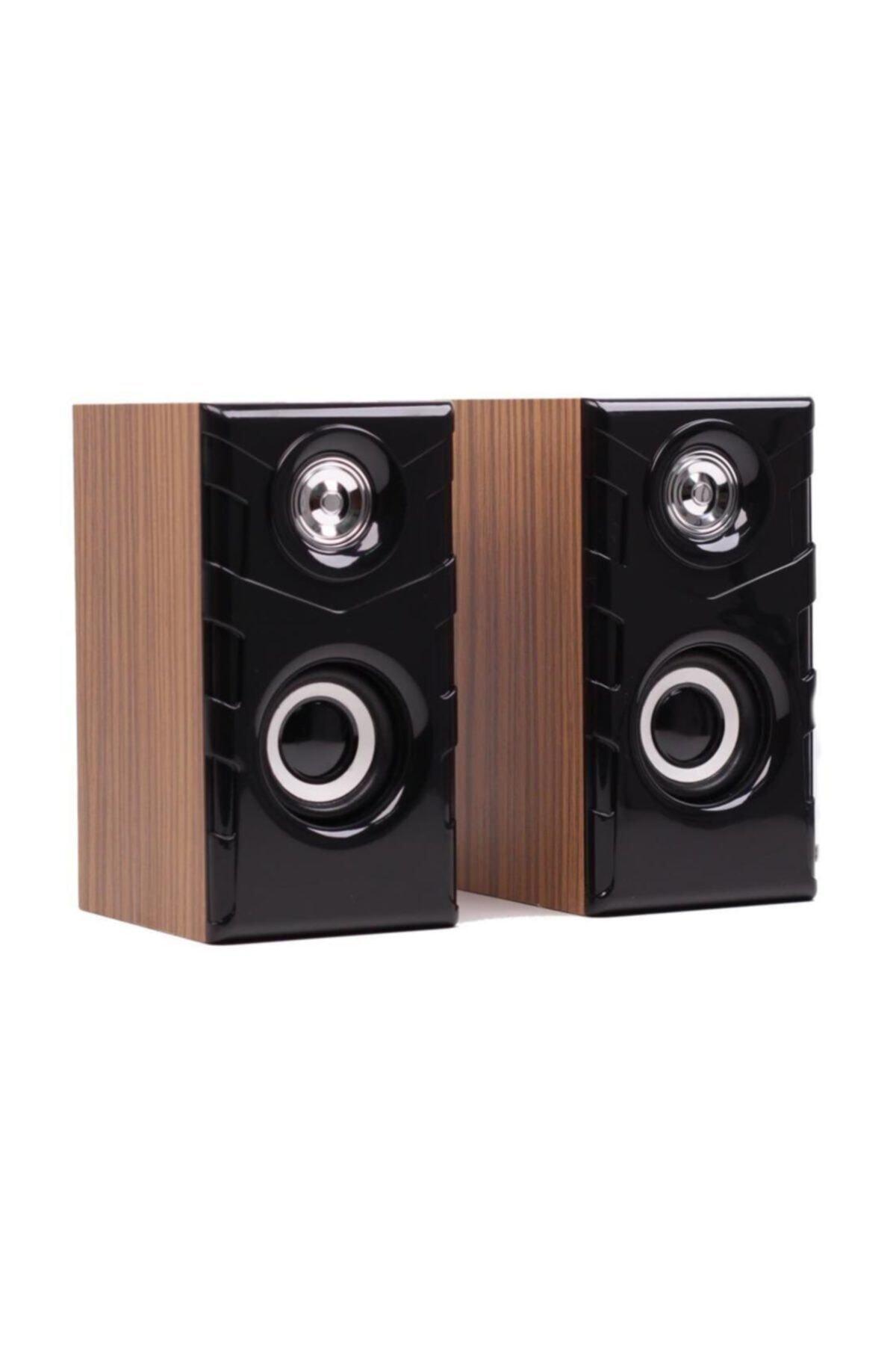 Ft-616 2.0 Speaker Ekstra Bass Hoparlör Ses Sistemi 1+1