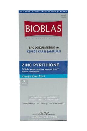 Bioblas Zınc Pyrition Saç Dökülmesine Ve Kepeğe Karşı Etkili Şampuan 360 ml 1