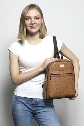 Marie Claire Kadın Kahverengi Sırt Çantası Mia Mc212102006 0