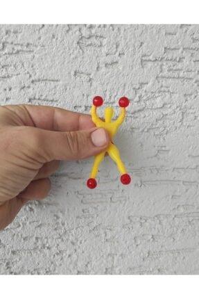 OLGUN Cama Yapışan Örümcek Adam Oyuncak 6 Adet Birden Spiderman 15 cm 1