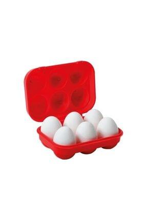 Nurgaz Yumurta Saklama Kutusu Kırmızı 1