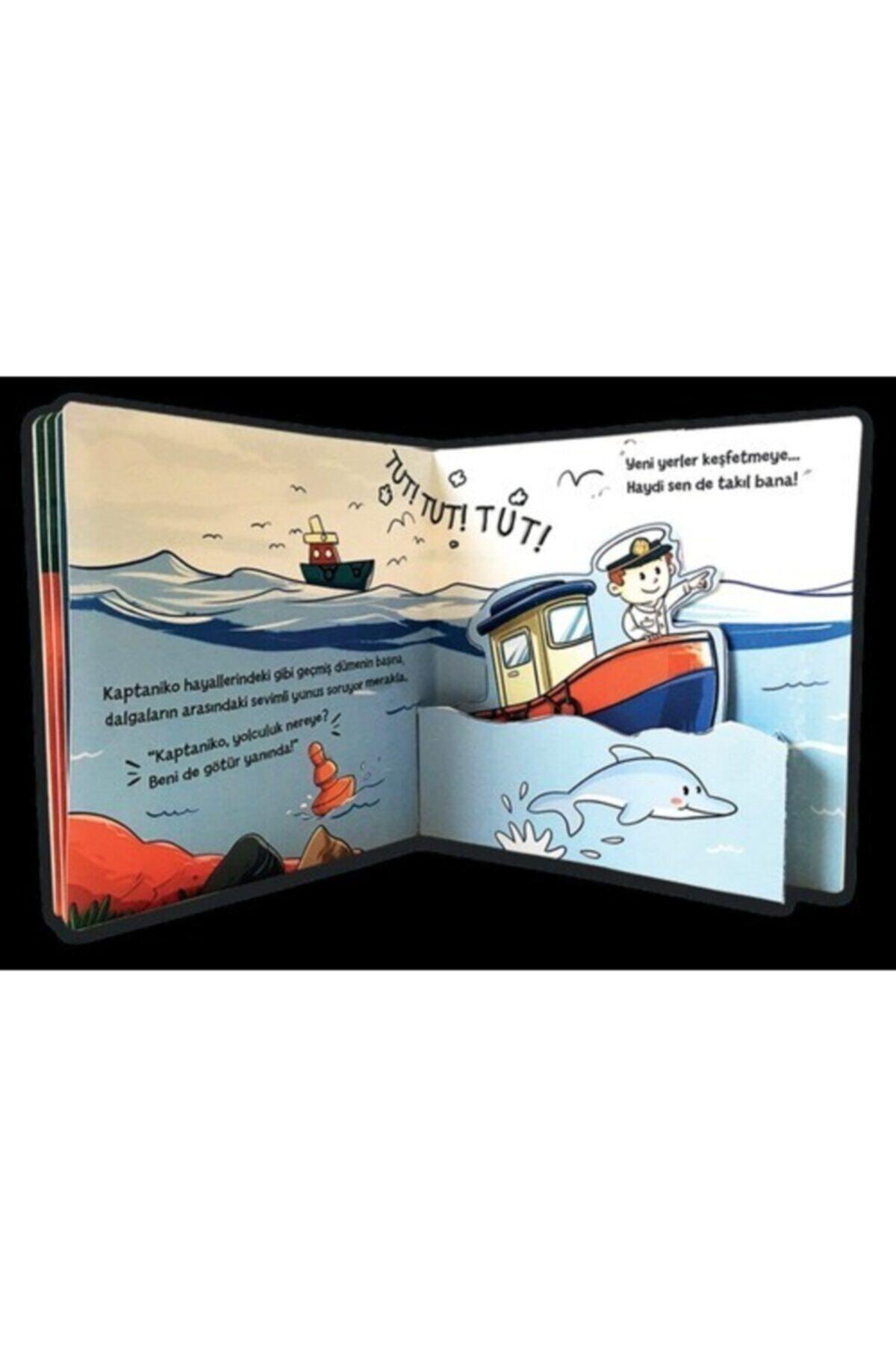 Sincap Kitap (hediyeli) Üç Boyutlu Hareketli Kitap Seti 12 Ay+ (small Paket) Pop-up Ile Keşfet