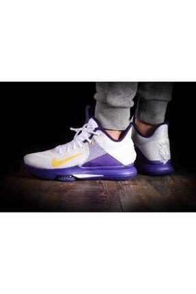 Nike Lebron Witness 4 Voltage Purple Erkek Ayakkabı Bv7427-100 2