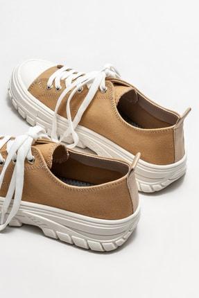 Elle Kadın Camel Sneaker 3