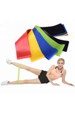 TechnoSmart 2 Li Farklı Dirençte Aerobik Bandı Pilates Squat Çalışma Lastiği 2