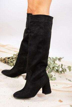 Fox Shoes Siyah Kadın Çizme J749198302 1