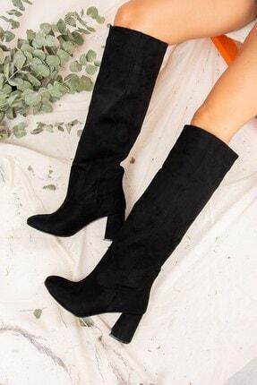 Fox Shoes Siyah Kadın Çizme J749198302 3