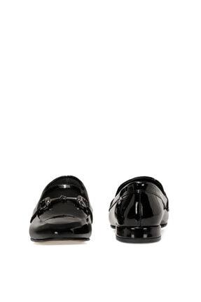 Nine West Suela3 Siyah Kadın Loafer Ayakkabı 4