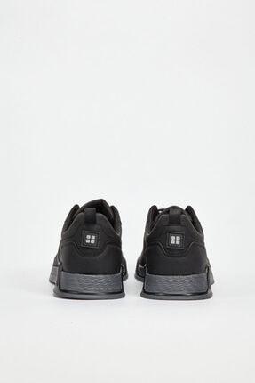 Avva Erkek Siyah Spor Ayakkabı A02y8016 3
