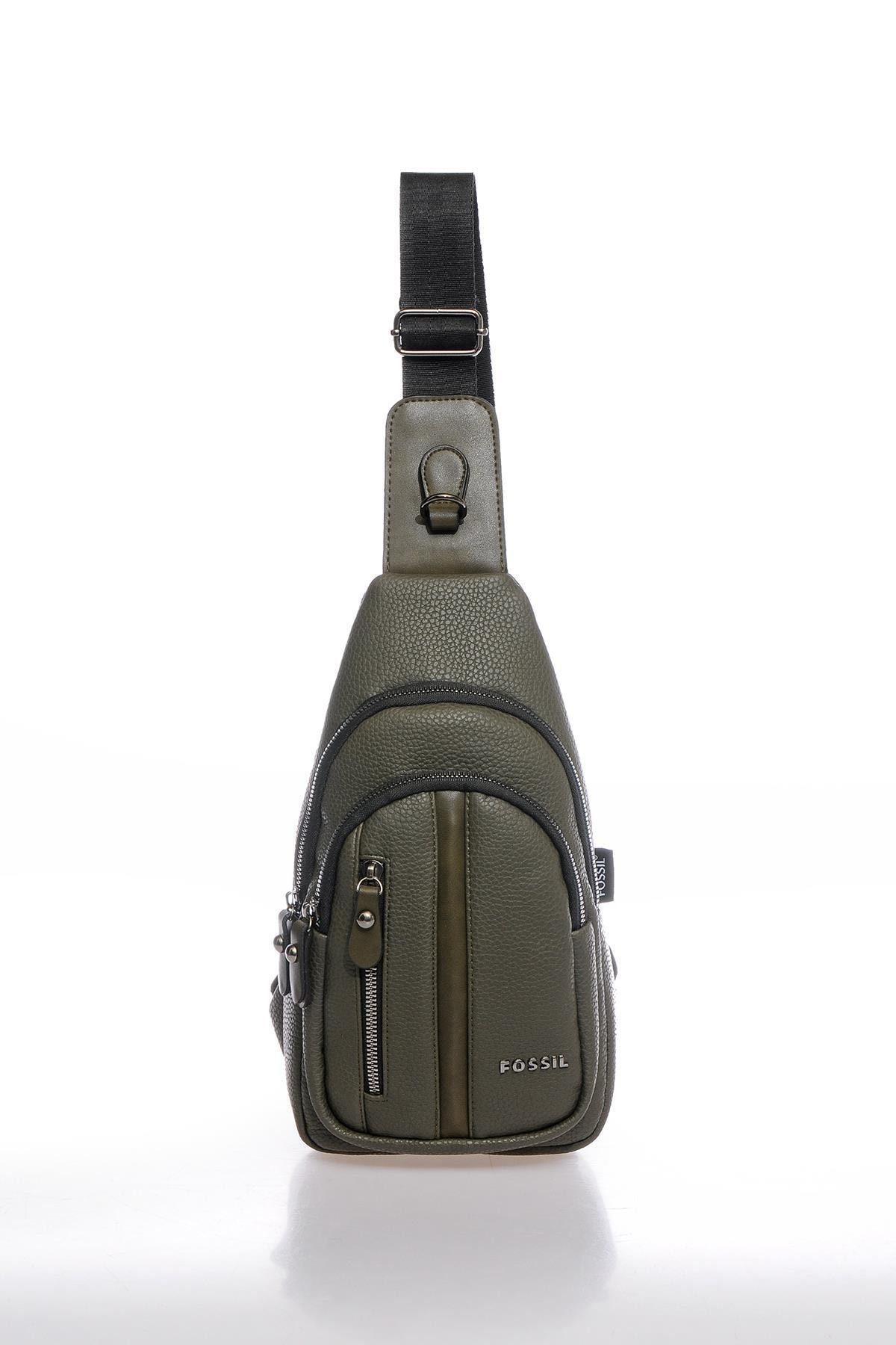 Fscr064697 Haki Unisex Body Bag