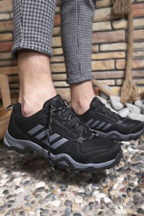 Riccon Siyah Füme Erkek Trekking Ayakkabı 0012189 1