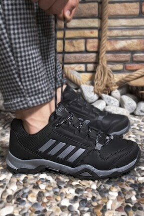 Riccon Siyah Füme Erkek Trekking Ayakkabı 0012189 4