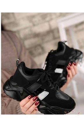ZERBANOZ Siyah Spor Ayakkabı 1