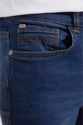 Avva Erkek Lacivert Slim Fit Jean Pantolon A02y3529 3
