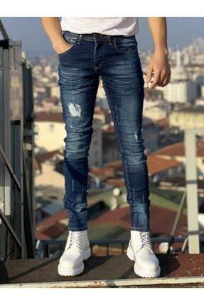 Merritt Koyu Lacivert Erkek Jean Pantolon AUEP17
