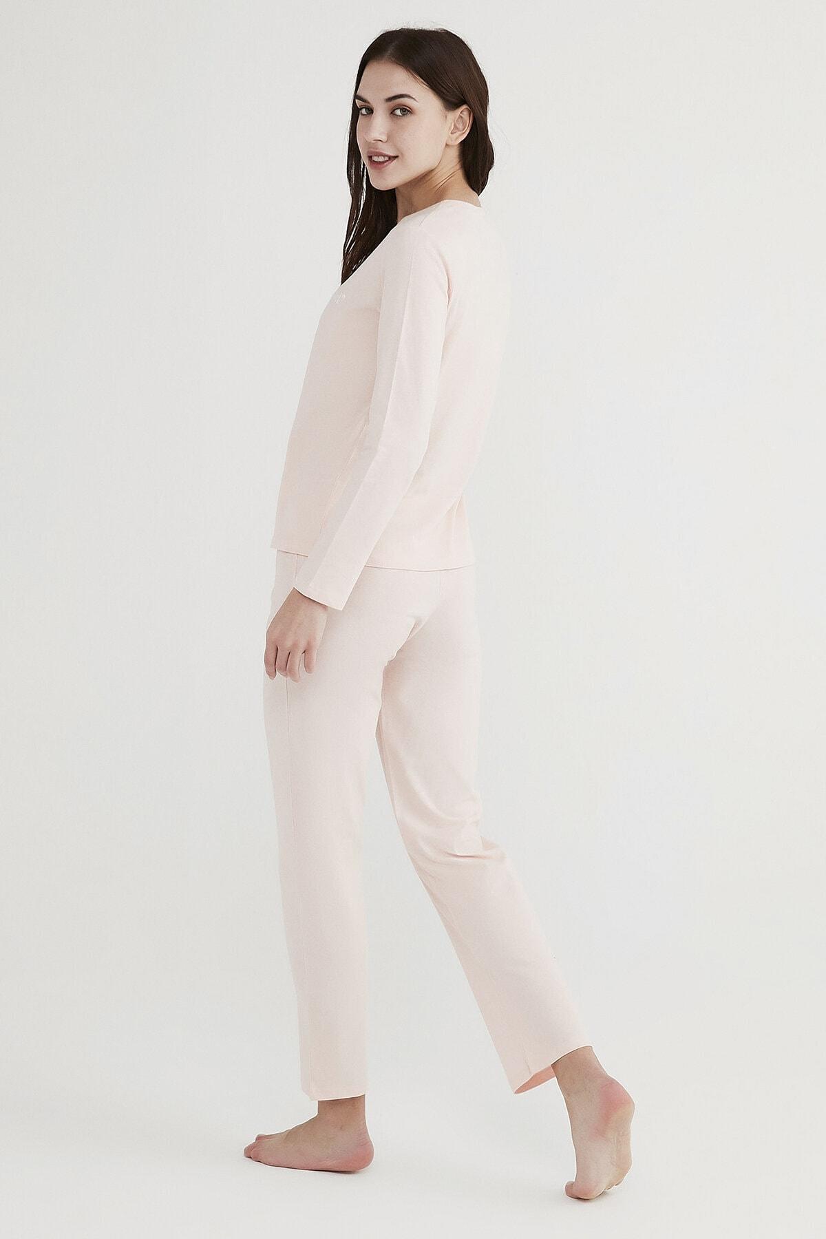 Penti Kadın Pembe Base Offline Pijama Takımı 3
