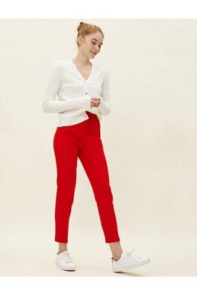 Koton Kadın Kırmızı Cigarette Pantolon 1