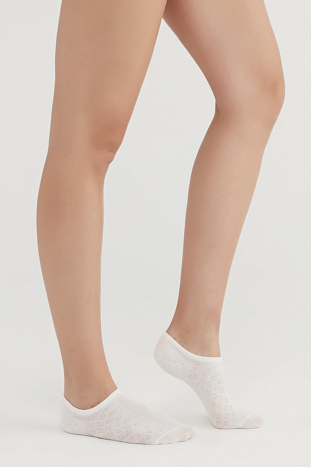 Penti Gri Twill  Görünmez Çorap 3 Lü