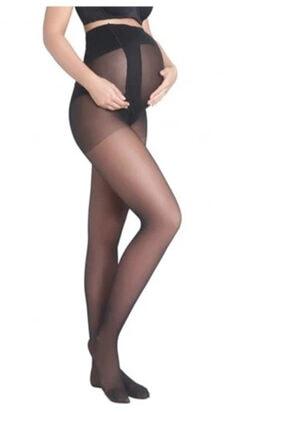 Penti Kadın Siyah 9 Ay 10 Gün Külotlu Hamile Çorabı 0