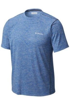 Columbia Ao1293-438 Deschutes Runner Kisa Kollu Erkek T-shirt 0