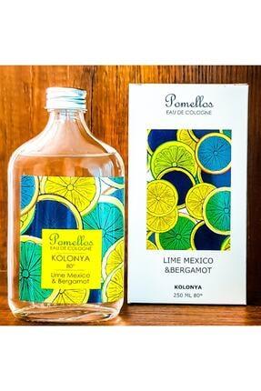 Pomellos Kolonya Lıme Mexıco&bergamot 250ml 0