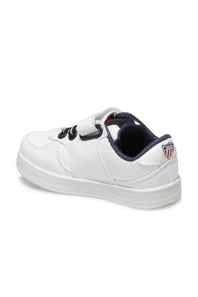 US Polo Assn CAMERON 1FX Beyaz Erkek Çocuk Sneaker 100909775 2